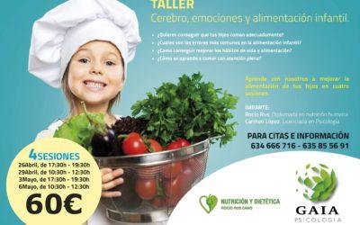 Taller Cerebro, emociones y alimentación infantil